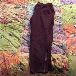 NWT Black Cherry Skinny Jeans
